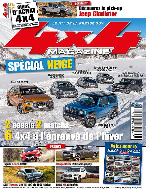 4×4 Magazine N°427 – Février-Mars 2019