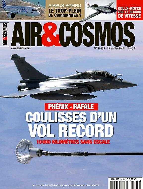 Air et Cosmos N°2625 Du 25 Janvier 2019