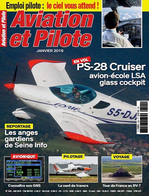Aviation et Pilote N°540 – Janvier 2019