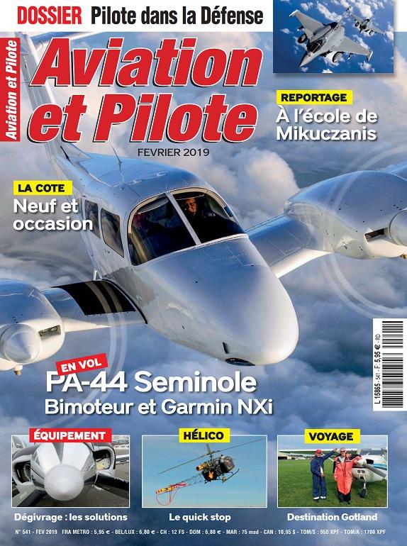 Aviation et Pilote N°541 – Février 2019