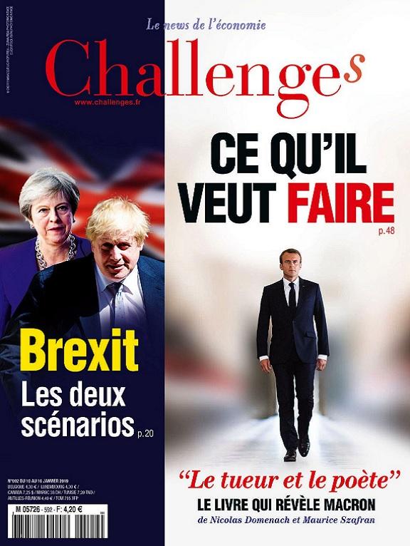 Challenges N°592 Du 10 au 16 Janvier 2019