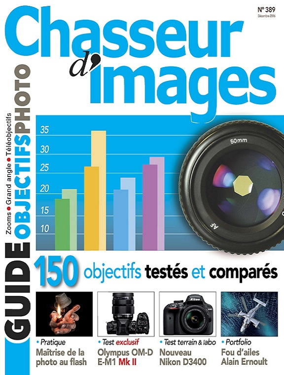 Chasseur d'images N°389 – Guide Objectifs Photo