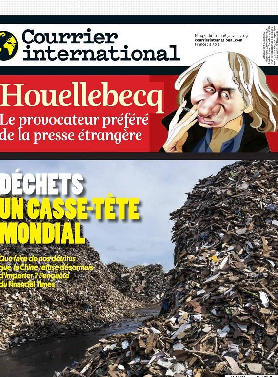 Courrier International N°1471 Du 10 au 16 Janvier 2019