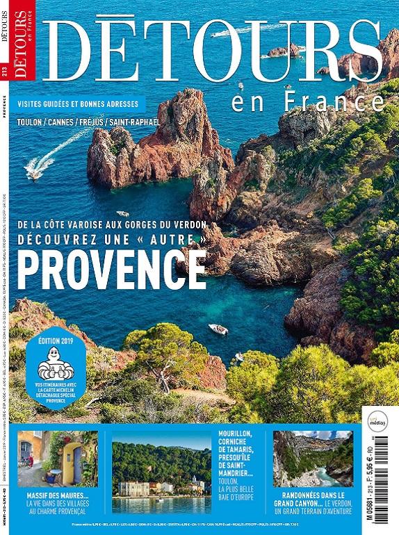 Détours en France N°213 – Janvier 2019