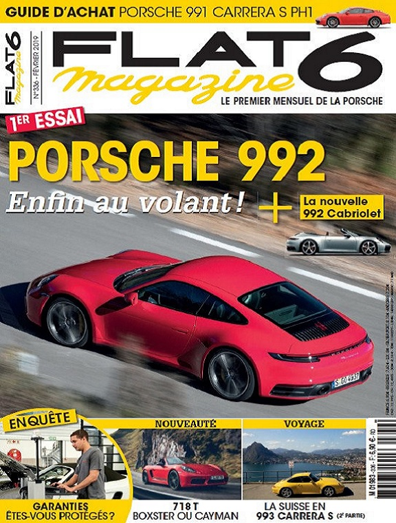 Flat 6 Magazine N°336 – Février 2019