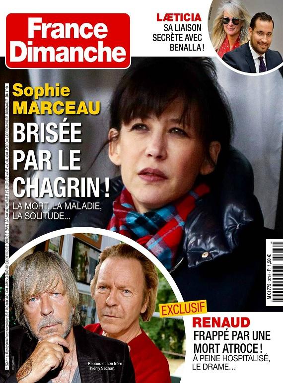 France Dimanche N°3776 Du 11 au 17 Janvier 2019