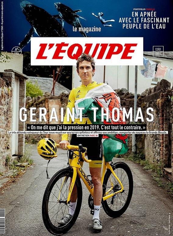 L'Équipe Magazine N°1904 Du 12 Janvier 2019