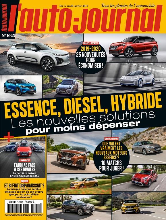 L'Auto-Journal N°1025 Du 17 au 30 Janvier 2019