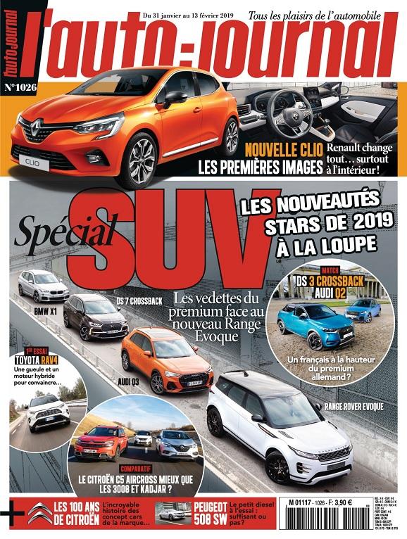 L'Auto-Journal N°1026 Du 31 Janvier au 13 Février 2019