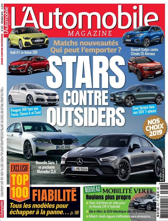 L'Automobile Magazine N°873 – Février 2019
