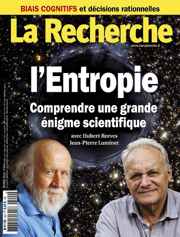 La Recherche N°544 – Février 2019