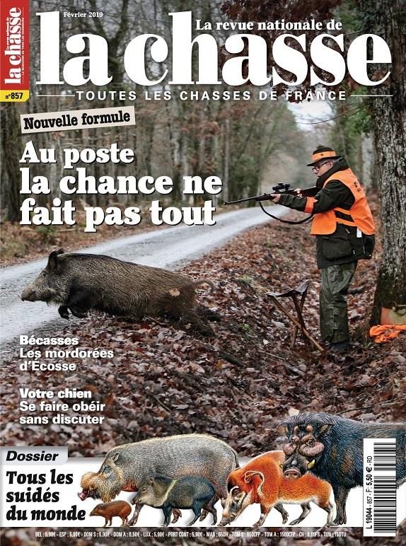 La Revue Nationale De La Chasse N°857 – Février 2019