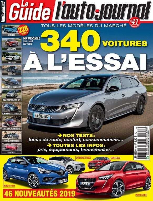 Le Guide De L'Auto-Journal N°41 – Janvier-Mars 2019