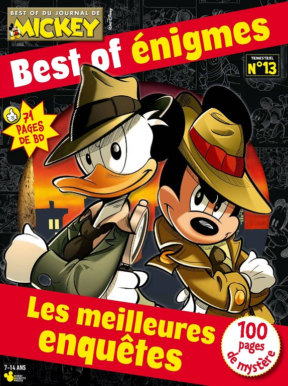 Le Journal De Mickey Best Of N°13 – Janvier 2019