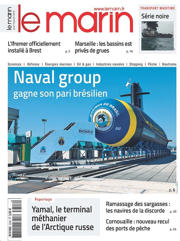 Le Marin N°3726 Du 10 Janvier 2019
