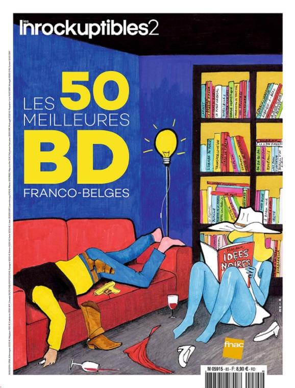 Les Inrockuptibles 2 N°85 – Les 50 meilleures BD Franco-Belges 2019