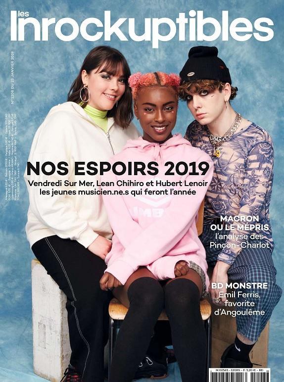 Les Inrockuptibles N°1208 Du 23 Janvier 2019