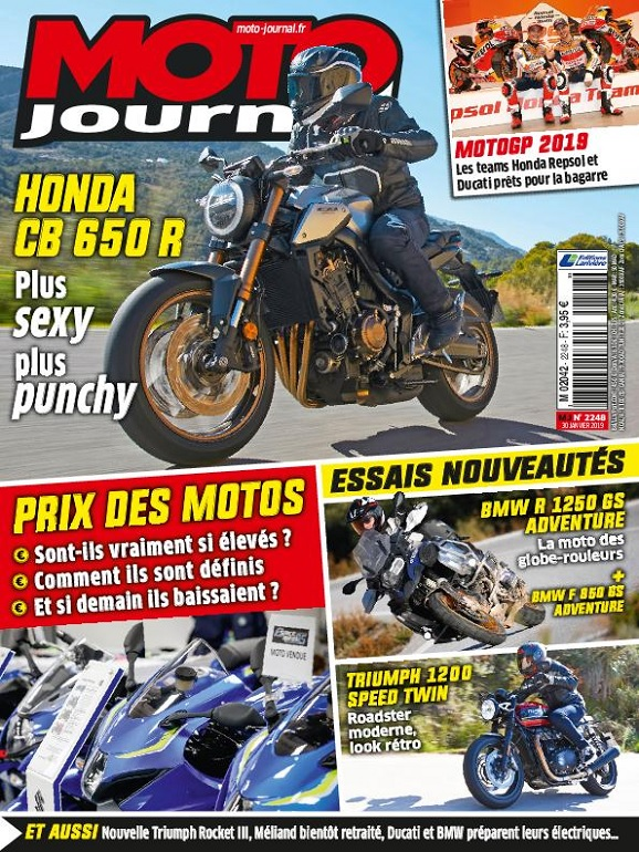 Moto Journal N°2248 Du 30 Janvier 2019