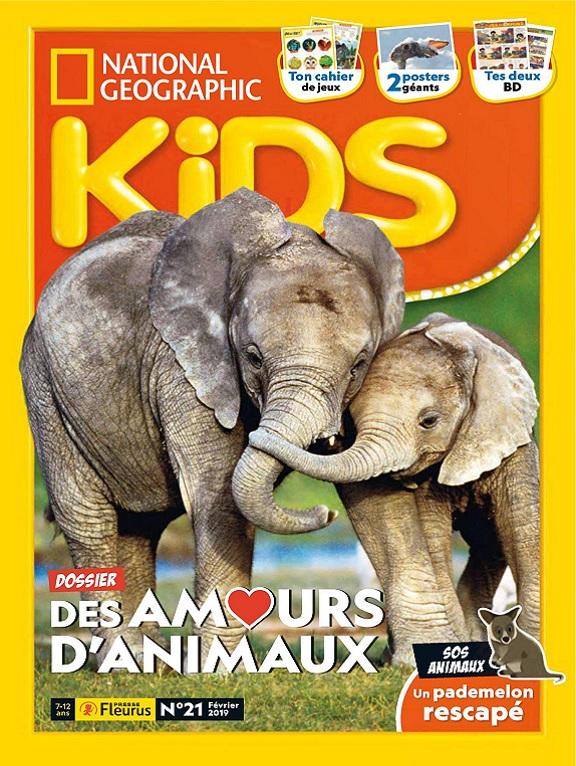 National Geographic Kids N°21 – Février 2019