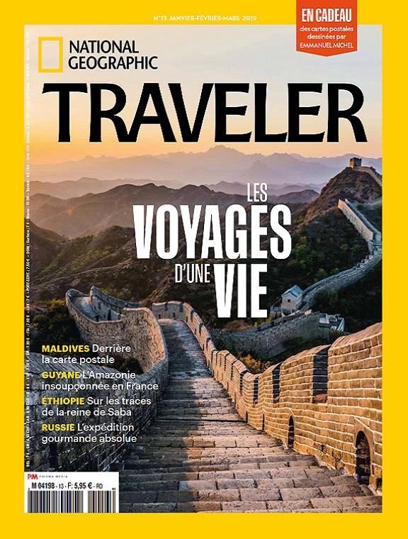 National Geographic Traveler N°13 – Janvier-Mars 2019