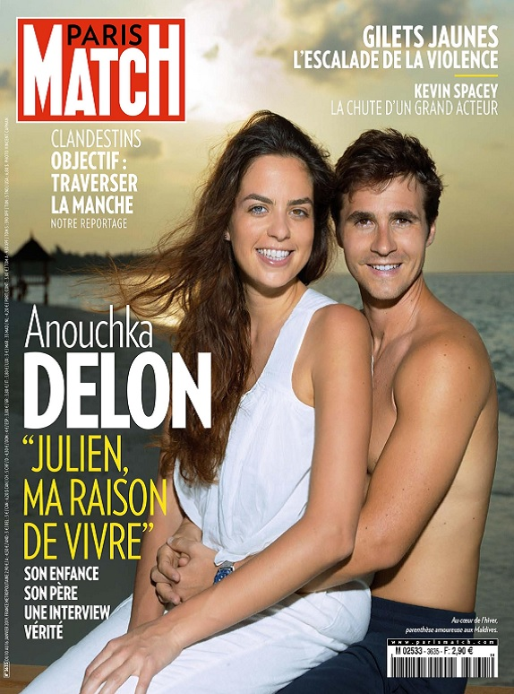 Paris Match N°3635 Du 10 au 16 Janvier 2019