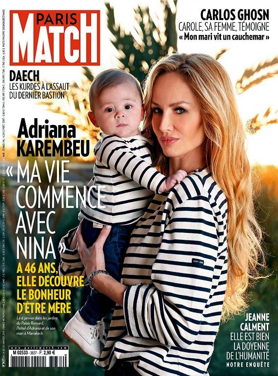 Paris Match N°3637 Du 24 au 30 Janvier 2019
