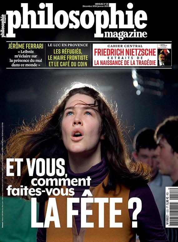 Philosophie Magazine N°125 – Décembre 2018-Janvier 2019