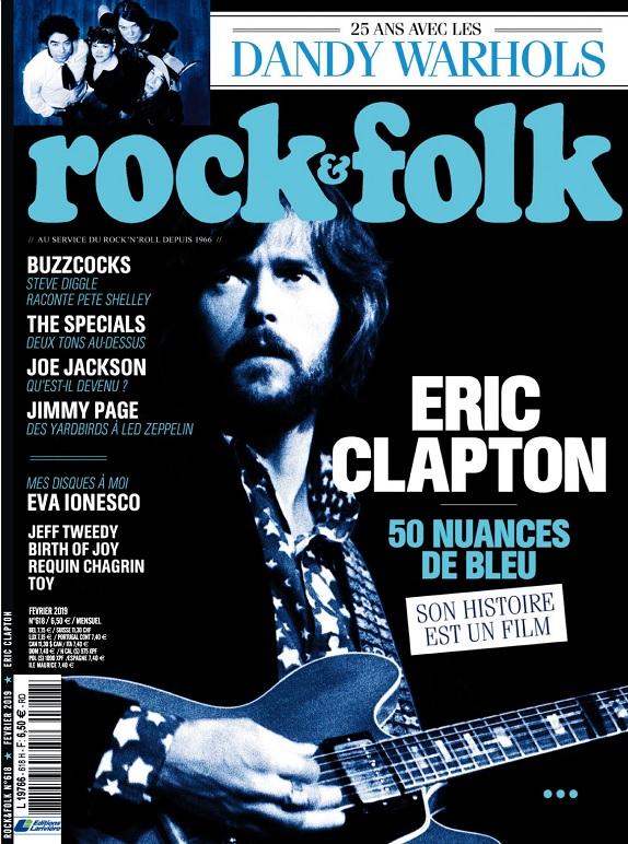Rock et Folk N°618 – Février 2019