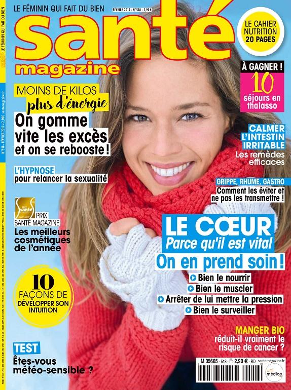Santé Magazine N°518 – Février 2019