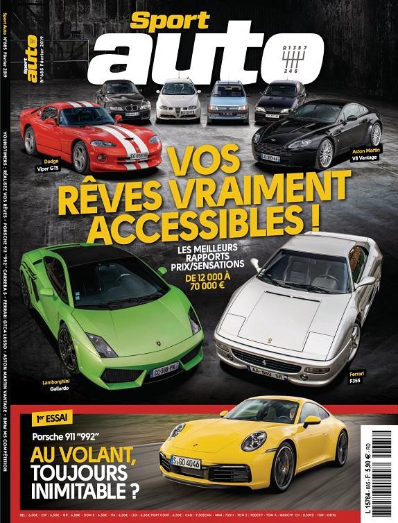 Sport Auto N°685 – Février 2019