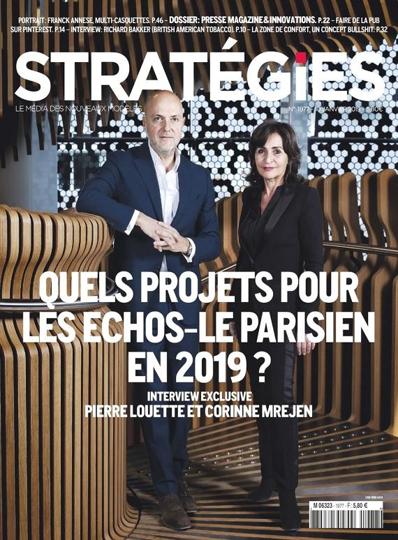 Stratégies N°1977 Du 10 Janvier 2019