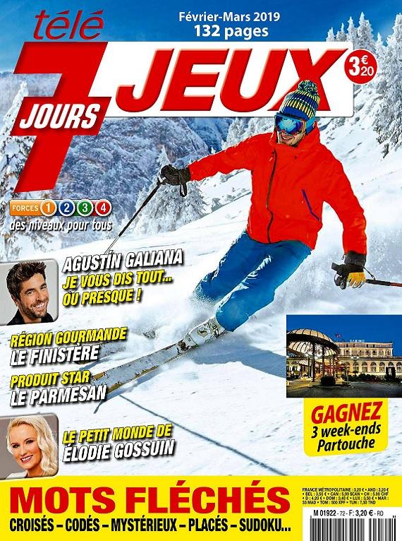 Télé 7 Jours Jeux N°72 – Février-Mars 2019