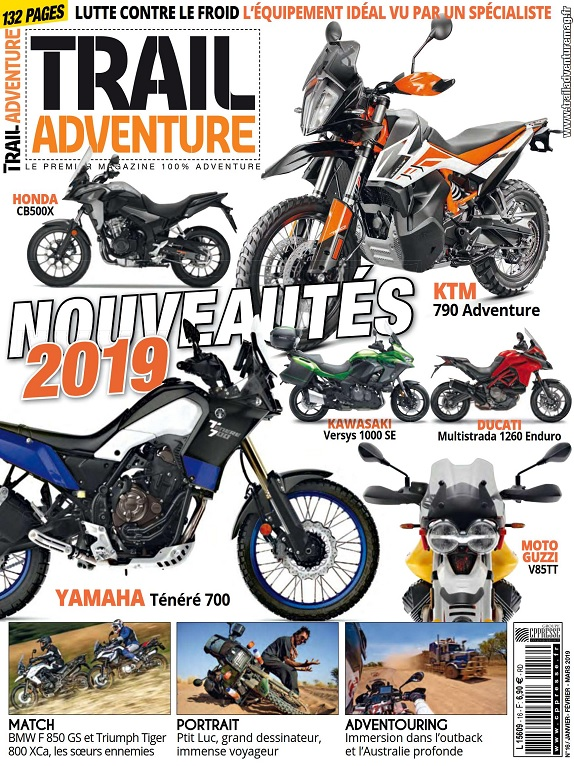 Trail Adventure N°16 – Janvier-Mars 2019