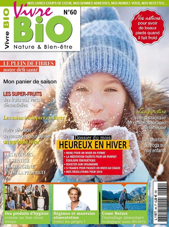 Vivre Bio N°60 – Janvier-Février 2019