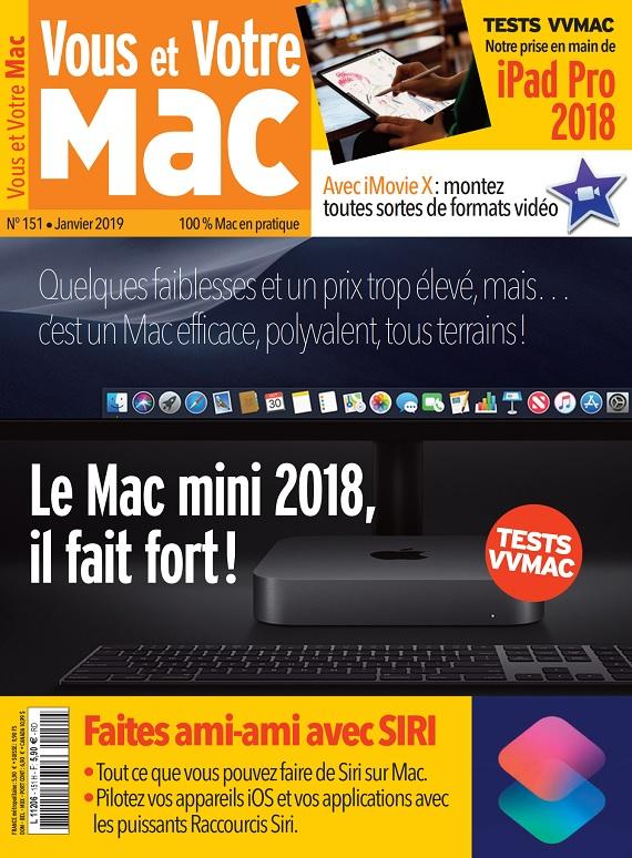 Vous et Votre Mac N°151 – Janvier 2019
