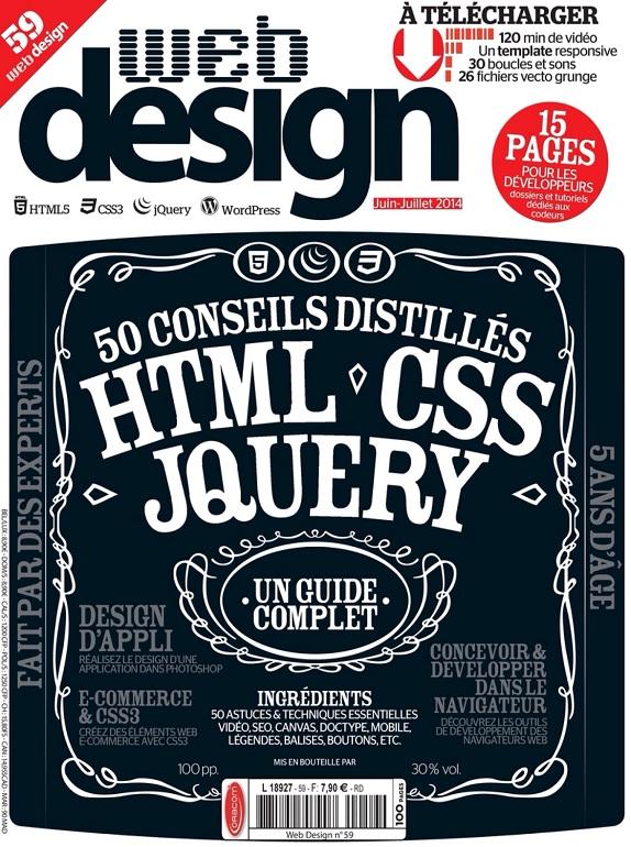 Web Design N°59 – 50 Conseils Distillés en HTML, CSS et JQuery