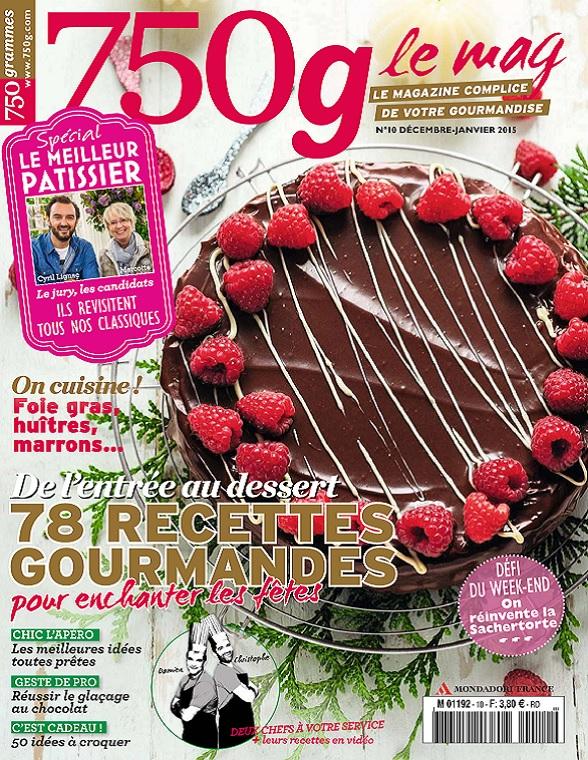 750g Le Mag N°10 – 78 Recettes Gourmandes