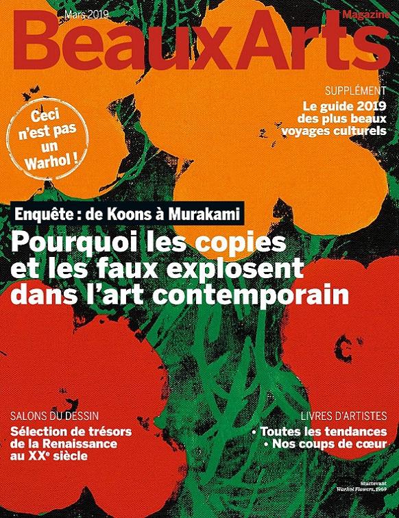 Beaux Arts Magazine N°417 – Mars 2019