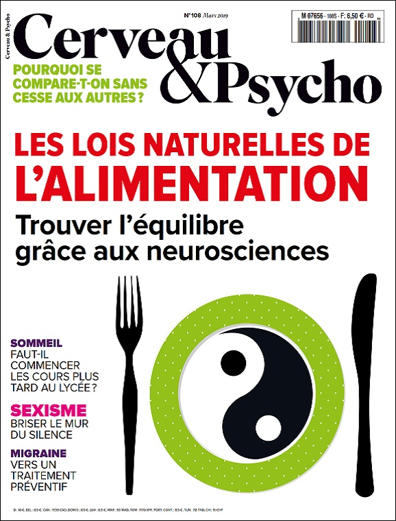 Cerveau et Psycho N°108 – Mars 2019