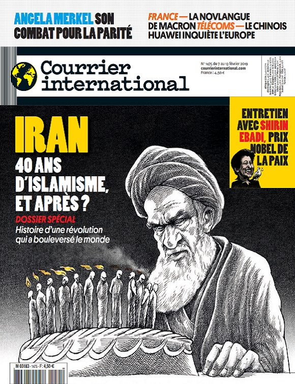 Courrier International N°1475 Du 7 Février 2019