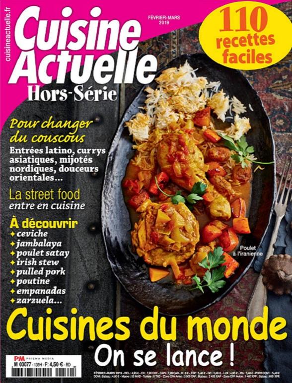 Cuisine Actuelle Hors Série N°139 – Février-Mars 2019