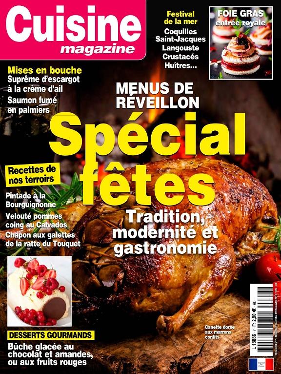 Cuisine Magazine N°7 – Novembre 2018-Janvier 2019
