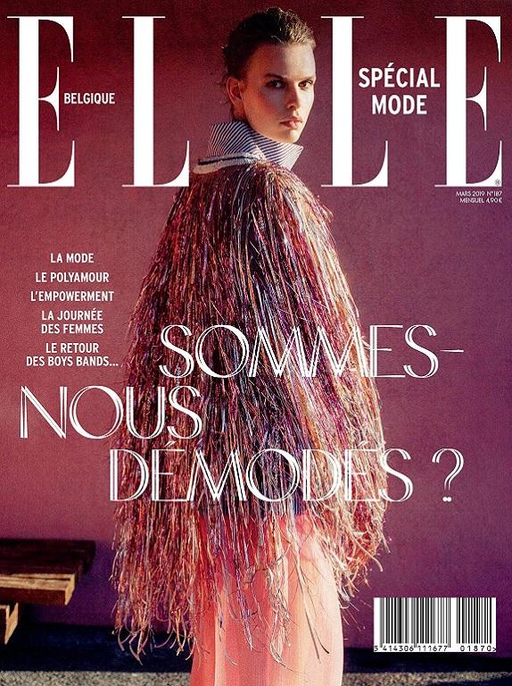 Elle Belgique N°187 – Mars 2019