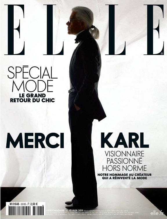 Elle N°3818 – Spécial Karl 2019