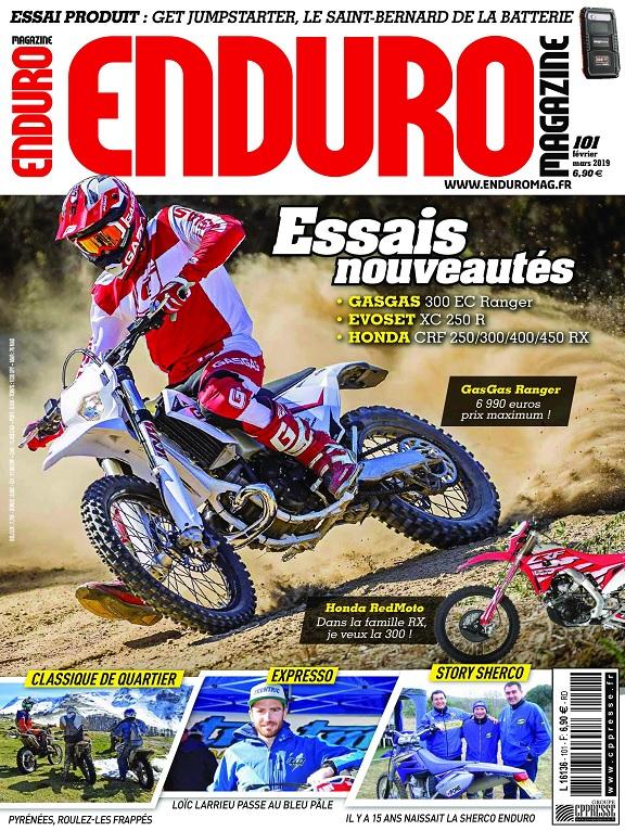Enduro Magazine N°101 – Février-Mars 2019