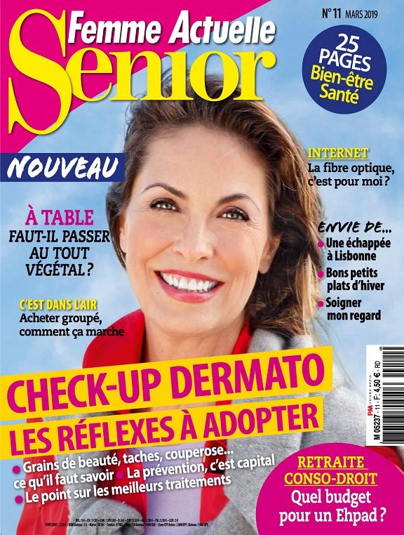 Femme Actuelle Senior N°11 – Mars 2019