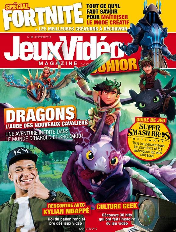 Jeux Vidéo Magazine Junior N°15 – Février 2019