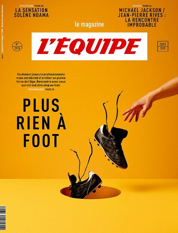 L'Équipe Magazine N°1910 Du 23 Février 2019