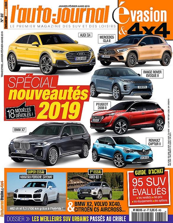 L'Auto-Journal 4×4 N°87 – Janvier-Mars 2019