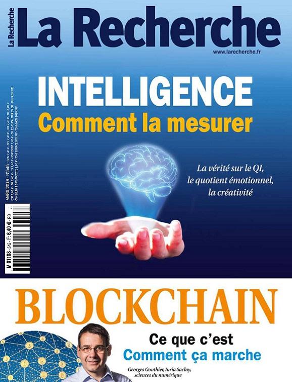 La Recherche N°545 – Mars 2019